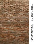 Small photo of Brick wall with classic and old style is suitable for designing and engraft pictures