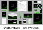 corporate identity set.... | Shutterstock .eps vector #1215997033