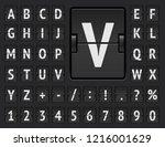 airport terminal mechanical... | Shutterstock .eps vector #1216001629