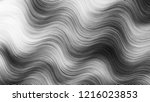 black and white wavy striped... | Shutterstock . vector #1216023853