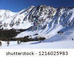 people skiing at arapahoe basin ...