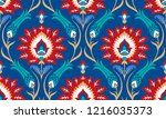 vector seamless colorful... | Shutterstock .eps vector #1216035373