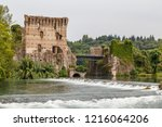 medieval fortifications of... | Shutterstock . vector #1216064206