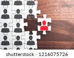 human resource management....   Shutterstock . vector #1216075726