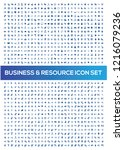business and office vector icon ... | Shutterstock .eps vector #1216079236