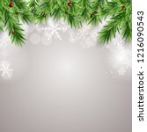 abstract holiday new year and... | Shutterstock .eps vector #1216090543