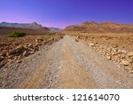 Dirt Road In Sand Hills Of...