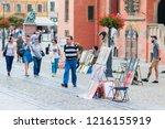 wroclaw  poland  september 2018.... | Shutterstock . vector #1216155919