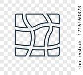 distort concept vector linear...   Shutterstock .eps vector #1216160323