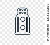 salt shaker concept vector... | Shutterstock .eps vector #1216166893