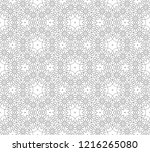 vector black and white... | Shutterstock .eps vector #1216265080