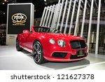 Постер, плакат: Bentley Continental Supersports Convertible