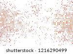 light orange vector background... | Shutterstock .eps vector #1216290499