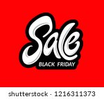abstract black friday sale... | Shutterstock . vector #1216311373