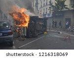 paris. ile de france paris le... | Shutterstock . vector #1216318069