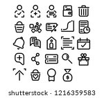 web   seo icons in line style...