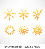 sun set   Shutterstock .eps vector #121637503