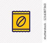 vector illustration of instant... | Shutterstock .eps vector #1216387363