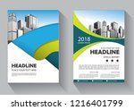 brochure template layout  cover ... | Shutterstock .eps vector #1216401799