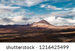 painted landscapes. iceland.... | Shutterstock . vector #1216425499
