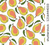 vector seamless pattern with...   Shutterstock .eps vector #1216444033