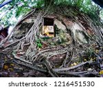wat bang kung temple covered...   Shutterstock . vector #1216451530