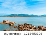 a view of the rock formations... | Shutterstock . vector #1216453306