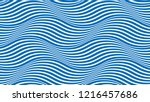 water waves seamless pattern ... | Shutterstock .eps vector #1216457686