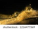 glitter lights grunge... | Shutterstock . vector #1216477369