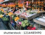 chiang mai  thailand   feb 2017 ... | Shutterstock . vector #1216485490