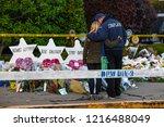 pittsburgh  pennsylvania   usa  ... | Shutterstock . vector #1216488049