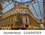 milan  italy   december 29 ...   Shutterstock . vector #1216542319