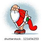 santa and the naughty list...