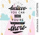 inspirational quote  motivation.... | Shutterstock .eps vector #1216573096