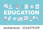 education word concepts banner. ...