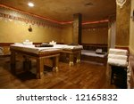 room for relaxation and massage | Shutterstock . vector #12165832