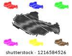 tibet autonomous region ... | Shutterstock .eps vector #1216584526