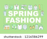 spring fashion word concepts...