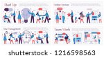 vector illustrations of the...   Shutterstock .eps vector #1216598563