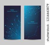 set of vertical banners....   Shutterstock .eps vector #1216663879