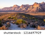 Red Rock Canyon At Sunrise