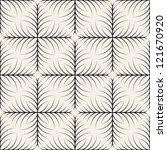 vector seamless pattern. modern ... | Shutterstock .eps vector #121670920