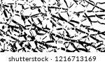 monochrome grunge pattern....   Shutterstock .eps vector #1216713169
