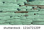 the old green wood texture with ... | Shutterstock . vector #1216721209