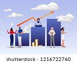 vector creative illustration of ... | Shutterstock .eps vector #1216722760