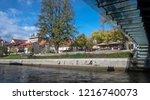 ljubljana  slovenia   october... | Shutterstock . vector #1216740073
