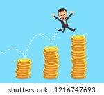 vector cartoon character...   Shutterstock .eps vector #1216747693