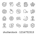 check mark  sharing economy ... | Shutterstock .eps vector #1216752313