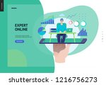 business series  color 3  ...   Shutterstock .eps vector #1216756273