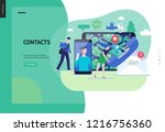business series  color 3  ... | Shutterstock .eps vector #1216756360
